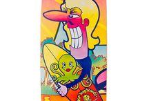 """Paradise GB · Miller Division · Longboard / 37"""", shape direccional, cóncavo medio y anchura por toda la tabla. Gómez Bueno Collection"""