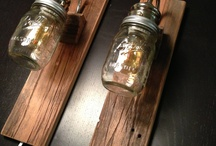 Light Fixutres / Lighting for the home. Changing out old fixtures to create something of your own.
