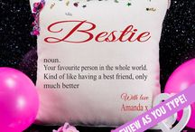 Bestie / Our designs your besties, no.1's, best friends and all the favourite people that matter in your life