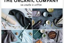 The Organic Company / Marque danoise qui crée des produits et accessoires pour la maison à partir de coton bio 100% certifié