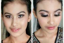 Bridal wedding makeup and hair / Bridal Makeup, Hairstyle, Wedding