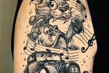 Ideer til tatoo alla 50s