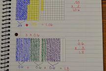 i teach - math / by Martha Scherpelz