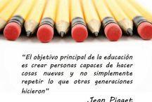 Educación / Buenas ideas para la educación dentro y fuera del aula.