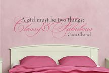 For Girls / by WallQuotes.com