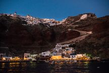 Places - Santorini, Greece - Sailing in Santorini by Kirra Cheers / When putting together my itinerary, it was the one thing I wouldn't compromise on… For all its beauty – Santorini is not really a beach island. Getting up and down the caldera can be brutal and the beaches generally substitute sand for rocks. Santorini is all about the view, the stunning sunset and the impossibly clear waters. So Sailing makes perfect sense.  http://commongroundaustralia.com/byronbay/community/travel-community/sailing-in-santorini/