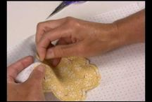 Patchaplique virada da agulha