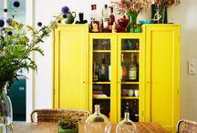 Διακόσμηση με κίτρινο!