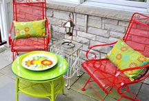 outside deck furniture