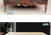 Furniture Makeovers--Upcycling!  / by Breann Haubert