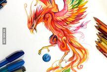 Păsări mistice