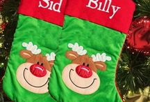 Personalised Christmas Stockings / AmysGifts.co.uk can personalised a special keepsake stocking for your to decorate with each Christmas.