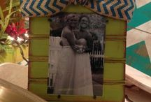 diy picture frames / by Christe Clingan Hargrove