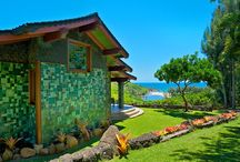 SEA SONG AT KAHILI BAY / How about a dreamy spot on the island of Kauai in Hawaii for a getaway...or at least a Monday daydream? Sea Song Villa at Kahili Bay is like stepping into an illustrated story book. Everything about this unique, specially crafted home will make you feel like you escaped down the rabbit hole into a luxurious and comfortable corner of paradise.  View more at: http://bit.ly/seasongkahili