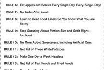 Diet tips and plans
