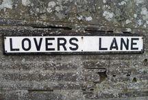 LOVERS LANE / by Brandy Jones