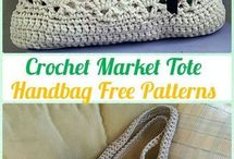 crochet market tote