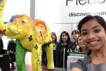 Elephantastic / We're looking for the best selfie of you with one of our elephants on Horsham's Elephantastic trails: head to Wabi, in East Street, and Marks & Spencer, in Swan Walk, to check out the elephants which will be auctioned for Action Medical Research.