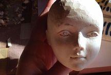 кукла деревянная