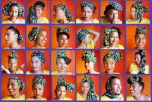 Head wraps / African head wear