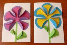 Origami plaskie