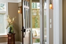 foyer ideas / by Edith Bryan