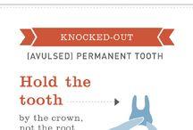 DENTAL EMERGENCY. / Common dental emergencies.Find out more about dental care and dental emergencies in this board.