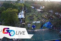 Go Live Events / Lively coverage of Bali's most exciting events