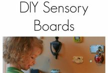 Sensory boards etc