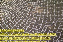 jaring pengaman / jaring safety / jaring pengaman proyek, jaring pengaman bangunan, jaring pengaman gedung, jaring polynet, jaring kasa, jaring safety