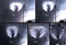 """Louisiana (USA), testimoni fotografano un UFO che arriva attraverso un """"portale interdimensionale"""""""