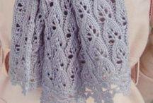 Вязание шарфы