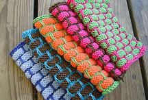 Knitted Discloth patterns
