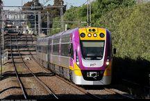 vlaky - Austrálie
