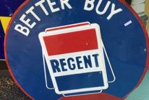 REGENT ADVERTISING AUTOMOBILIA / Visit our website to see our full range of automobilia. Stock changes regularly, so check back for new products: http://mattsautomobilia.co.uk/new
