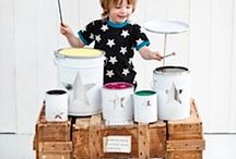 Musical Play Ideas / Activities for musical play and learning for children of all ages / by Christie Burnett @Childhood101