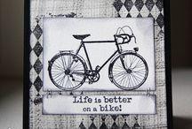 Cards bike