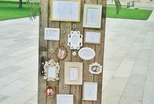 Wedding Seating Chart & Cards