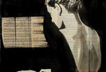 piano print