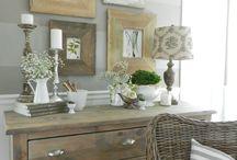 Sideboard decor
