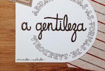 Hand Lettering / Inspiração!!!