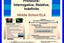 Middle School ELA: All Things Grammar!! / Excellent Middle School ELA Grammar Units and Activities!!