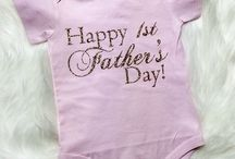 Happy Fathers Day / first fathers day onesie