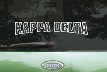 Kappa Delta / Something Greek specializes in sorority clothing for Kappa Delta. We have Kappa Delta recruitment shirts, bid day sweatshirts, KD letter key chains, picture frames, screenprinting ideas, custom greek apparel for Kappa Delta, and much more!  http://somethinggreek.com/shop/kappa-delta.asp / by Something Greek