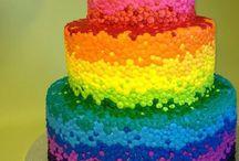 Annikahs rainbow party ideas