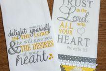 Machine embroidery Christian