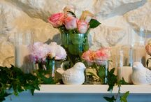 Wedding Decorations and Details - Weddingbee Bloggers / The wedding decorations, details, tablescapes and other pretty things from the Weddingbee bloggers.