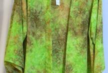 Batik Clothing for Women / Hand-dyed batik women's clothing.
