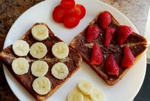 Foods / Nutella,Strawberry,Banana