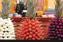 decoração abacaxi